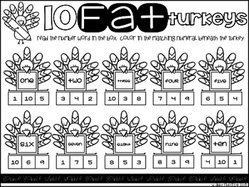 Ten Fat Turkeys FREE