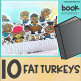 Ten Fat Turkeys Thanksgiving Book Companion for Speech Therapy
