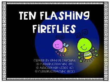 Ten Flashing Fireflies - Making 10