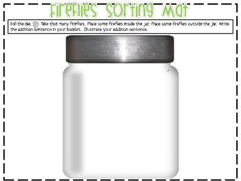 Ten Flashing Fireflies Math Activity Kit