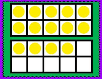 Ten Fram Flash - Editable - 0-10 & 0-20