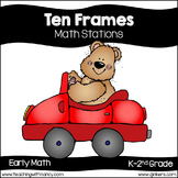 Ten Frame Activities (1-20) Math Centers