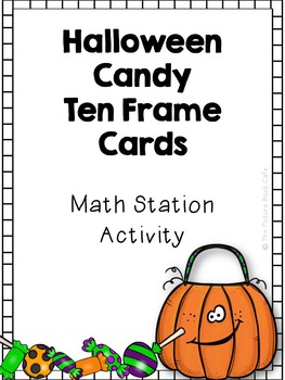 Ten Frame Activity (Halloween Candy Counting)
