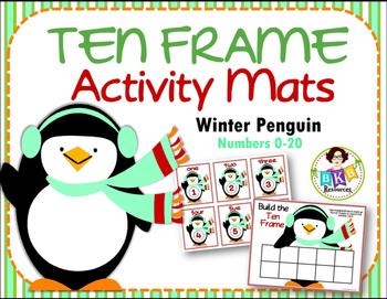 Ten Frame Activity Mats