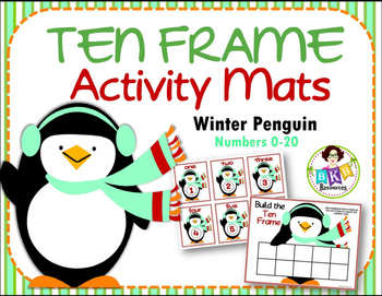 Ten Frame Activity Mats