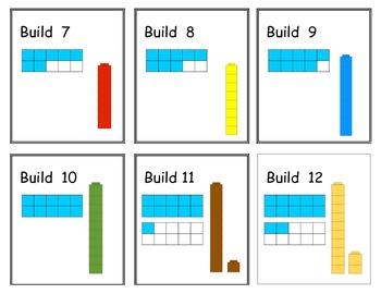 Ten Frame Activity Pack