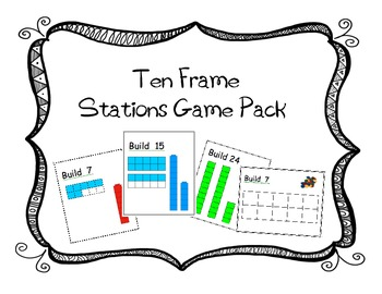 Ten Frame Activity Pack