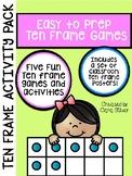 Ten Frame Activity Pack: 1st Grade