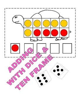 Ten Frame Activity Set