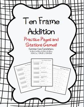 Ten Frame Addition