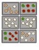 Ten Frame Addition: Christmas Cookie Addition