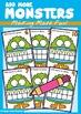Ten Frame Addition Monster Pack
