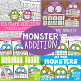Ten Frame Addition Monster Pack