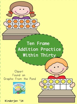 Ten Frame Addition to 30