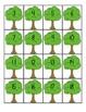 Ten Frame Apple Match-up 1-30