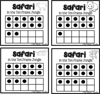 Ten Frame {Around The Room} Safari