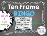 Ten Frame BINGO - class set