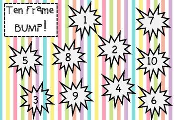 Numbers 1-10: Ten Frame BUMP!