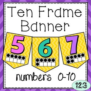 Ten Frame Banner