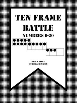 Ten Frame Battle: Numbers 0-20