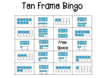 Ten Frame Bingo
