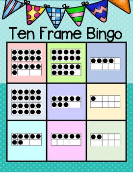 Ten Frame Bingo---A Game for Your K-2 Class