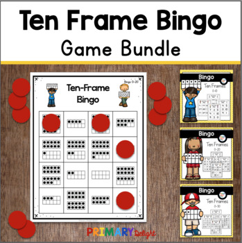 Ten Frame Bingo BUNDLE