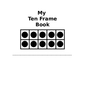 Ten Frame Book