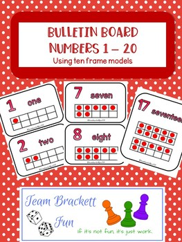 Ten Frame Bulletin Board Bundle