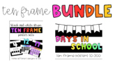Ten Frame Bundle | Bright Colors + Black and White Stripes