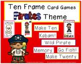 Ten Frame Card Games Pirate Theme