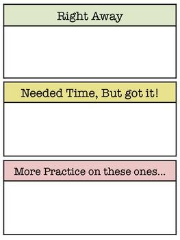 Ten Frame Card Practice Set