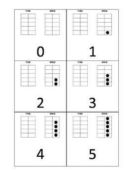 Ten Frame Cards (0-29)
