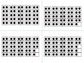 Ten Frame Cards 0-50