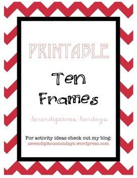 Ten-Frame Cards