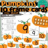 Pumpkin Number Cards