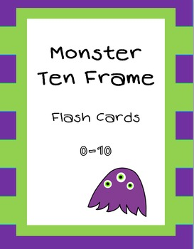 Ten Frame Cards (***FREEBIE***)