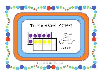 Ten Frame Cards Activity