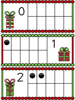Ten Frame Cards: Christmas Bundle