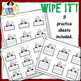 Ten Frame Cards● Christmas ● Number Cards 1-20 ● Write On ● Counting