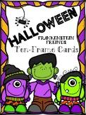 Halloween Ten Frame Cards: Frankenstein Friends