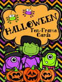 Ten Frame Cards: Halloween Bundle