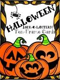 Halloween Ten Frame Cards: Jack O Lanterns