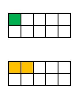 Ten Frame Cards - Singapore Math/Math in Focus