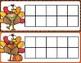 Ten Frame Cards | Thanksgiving | 1-10