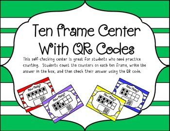 Ten Frame Center
