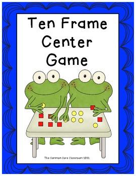 Ten Frame Center Game