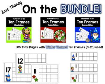 Ten Frame Center for Kindergarten and First Grade {BUNDLE}