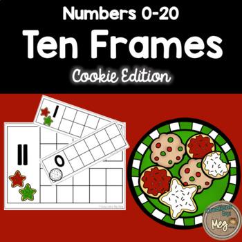 Ten Frame Center for Kindergarten and First Grade {Cookie Edition}