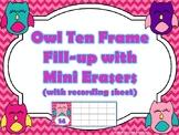 Ten Frame Center using Mini Erasers Growing Bundle
